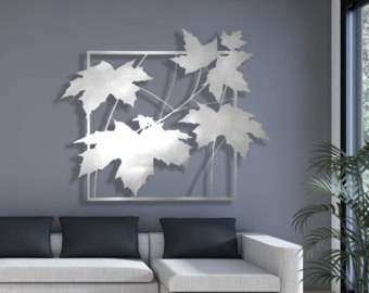 Laser Cut Metal Wall Art New Laser Cut Metal Decorative Wall Art Panel  Sculpture For Home