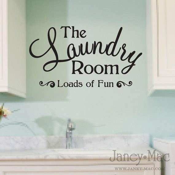Superb Laundry Room Signs Wall Decor Lovely Laundry Room Wall Decal Quote Loads Of  From Janeymacwalls On