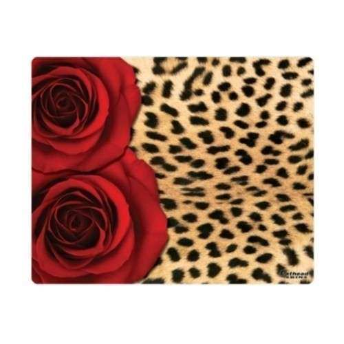 Fathead Leopard Print w Roses E420 Skin Wall Decal by Fathead