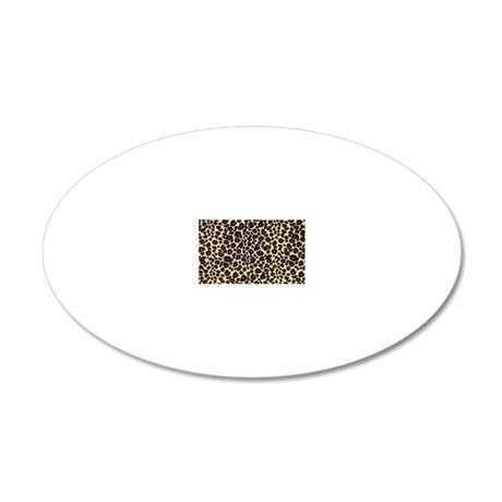 Leopard Print Decal Wall Sticker by Admin CP