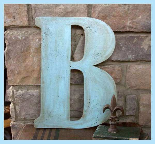 Wall Decor Letters Wood