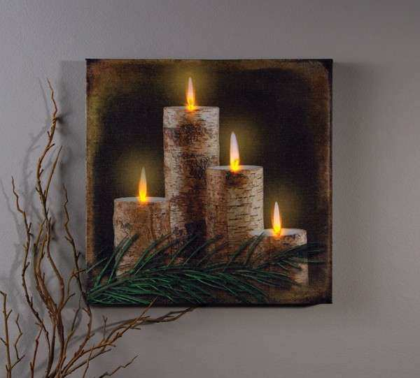Wall Art Amazing Light Up Canvas Wall Art For Your Home