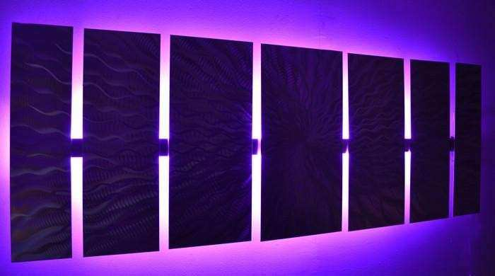"""Cosmic Energy LED"" Lighted Wall Art Video by"
