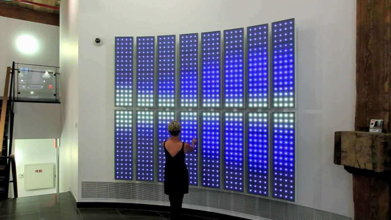 Wall Art Designs Led Wall Art Interactive Led Art Wall