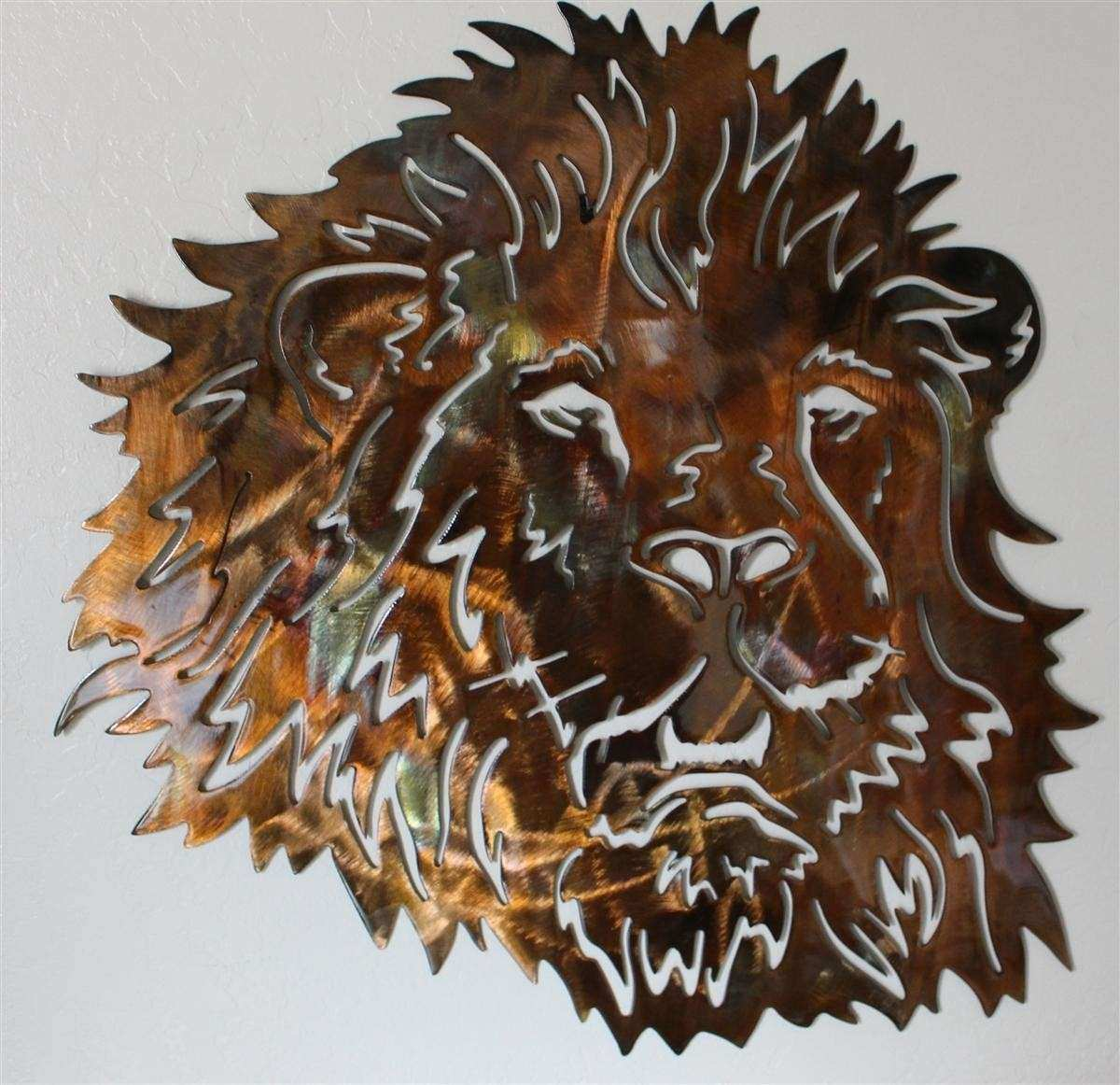 20 Best Collection of Lion Wall Art