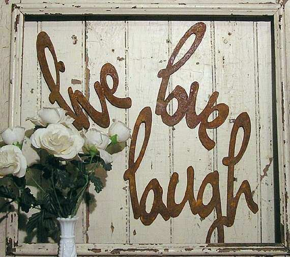 Live Laugh Love Metal Wall Decor Awesome Live Love Laugh Metal Word ...
