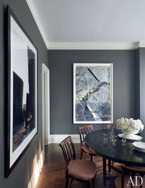 Gray Bedroom & Living Room Paint Color Ideas s