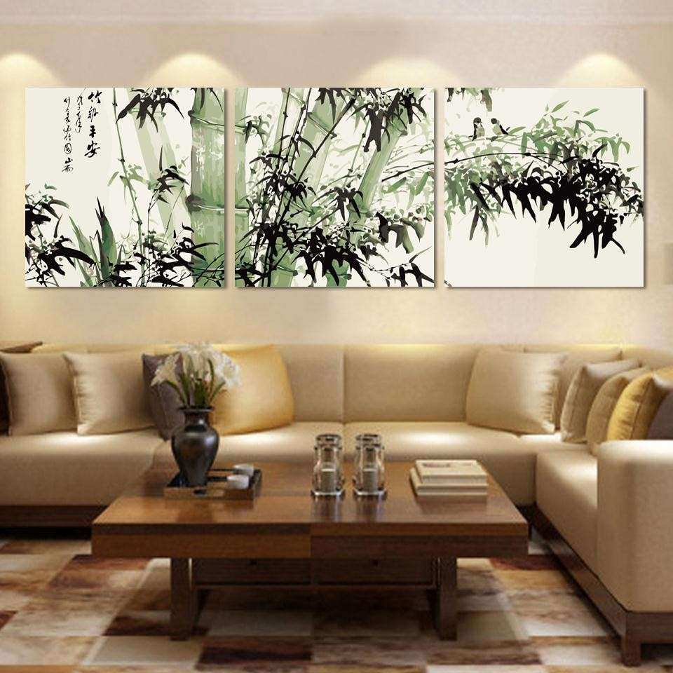 Living Room Large Wall Decorating Ideas Elegant Adorable Canvas Wall Art As  The Wall Decor Of
