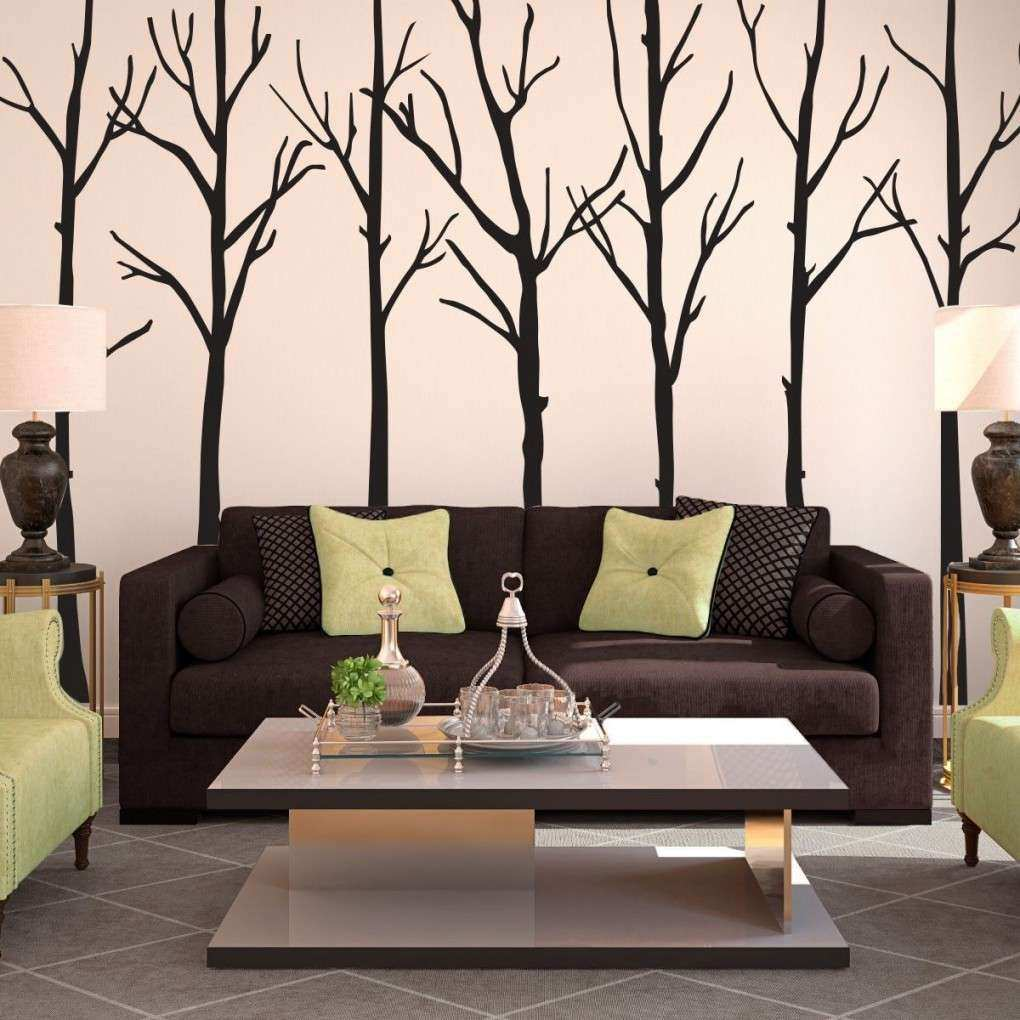Appealing Living Room Wall Hangings With Wall Art