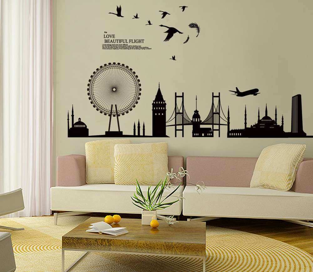 Living Room Wall Decor Amazon New Living Room Wall Decals Stickers