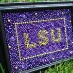 Lsu Framed Wall Art Luxury Lsu Mardi Gras Bead Framed Art Of Lsu Framed Wall Art