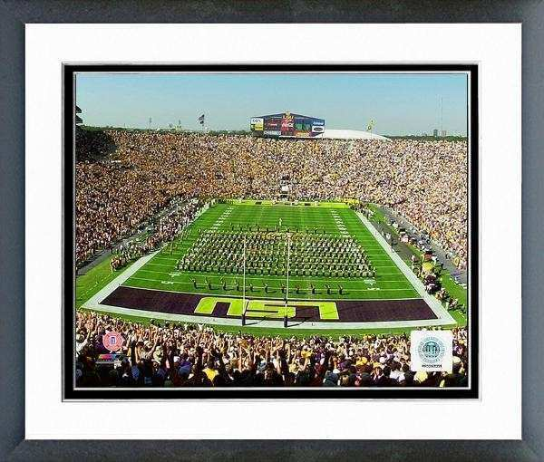 LSU Tigers Tiger Stadium 2000 Framed