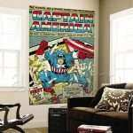 Marvel Wall Art Unique Retro Marvel Wall Murals To Replace Your Crummy Of Marvel Wall Art