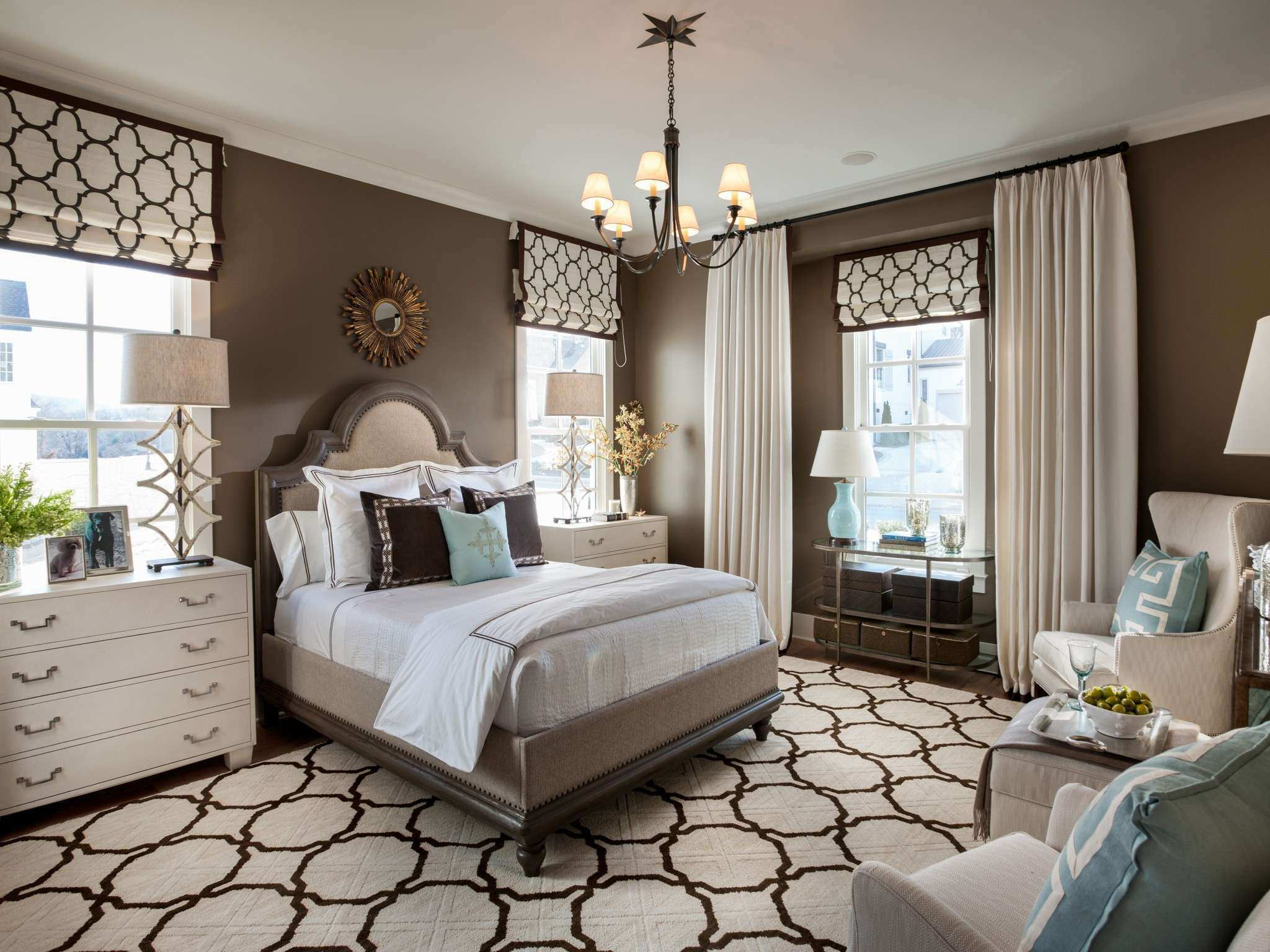 Decorating Chic Design Baby Bedroom With Flower