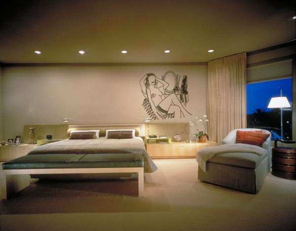 Redecorate Master Bedroom Ideas with Wall Art Painting