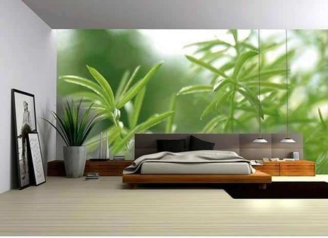 Wall picture design ideas green bedroom walls decorating