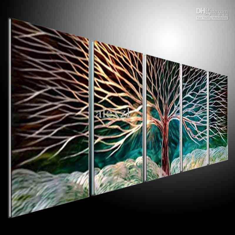 Wall Art Ideas Design Interior Abstract Handmade Metal