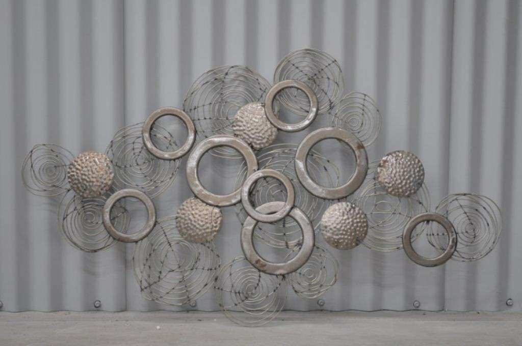 Metal Wall Art Decor And Sculptures Ideas with Metal