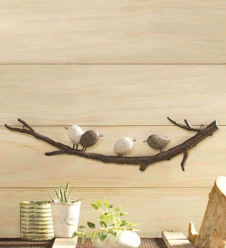 Unique Metal Branch Wall Art Festooning - Wall Art Collections ...