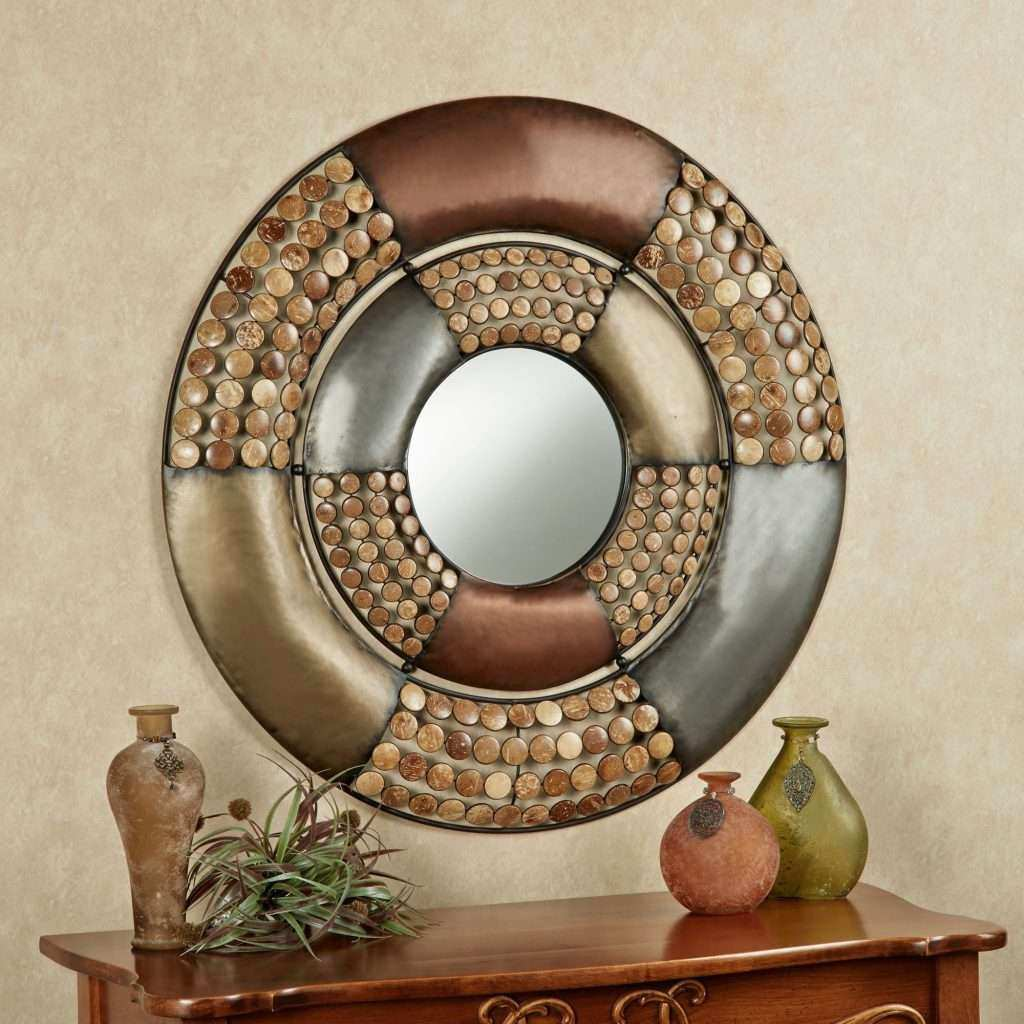 Metal Circle Wall Decor Beautiful Wall Décor Sconces Wrought Iron Beautify Your Home