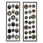 Metal Circle Wall Decor Lovely Metal Mirror Wall Decor In Circle Panel Bed Bath Amp Beyond Of Metal Circle Wall Decor