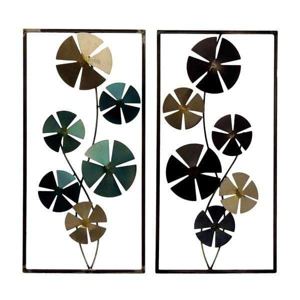 Metal Circle Wall Decor Luxury Gallerie Decor Geo Circles Metal Wall Art Set Of 2