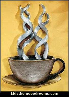 Metal Coffee Cup Wall Decor Lovely Decorating theme Bedrooms Maries Manor Coffee theme