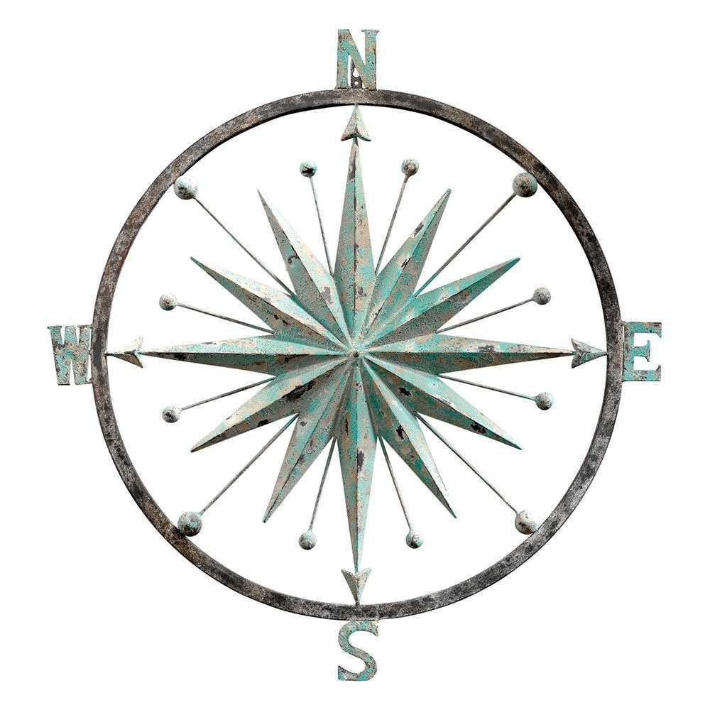 Metal Compass Wall Decor Lovely Design Toscano Mh Rose Of The Winds Pass  Rose