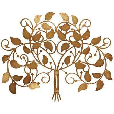 Propac Family Harvest Metal Tree Wall Décor