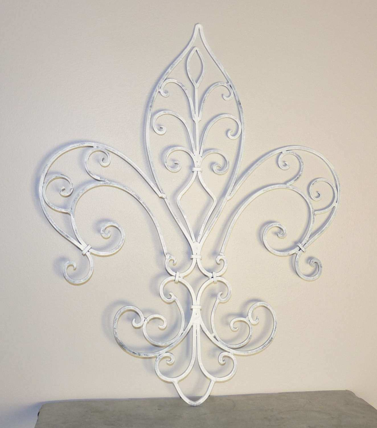 Metal Fleur De Lis Wall Art Best Of Fleur De Lis Wrought Iron Wall Decor  French
