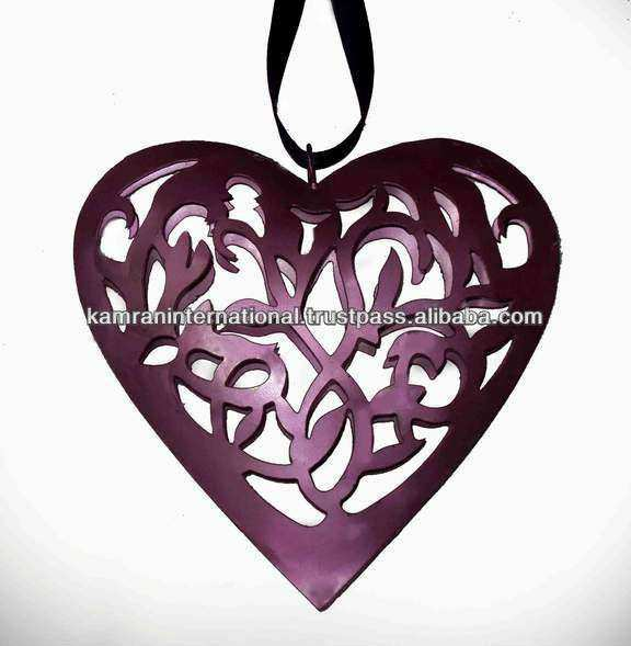 Metal Heart Wall Decor New Heart Shaped Metal Wall Decor Metal Heart ...