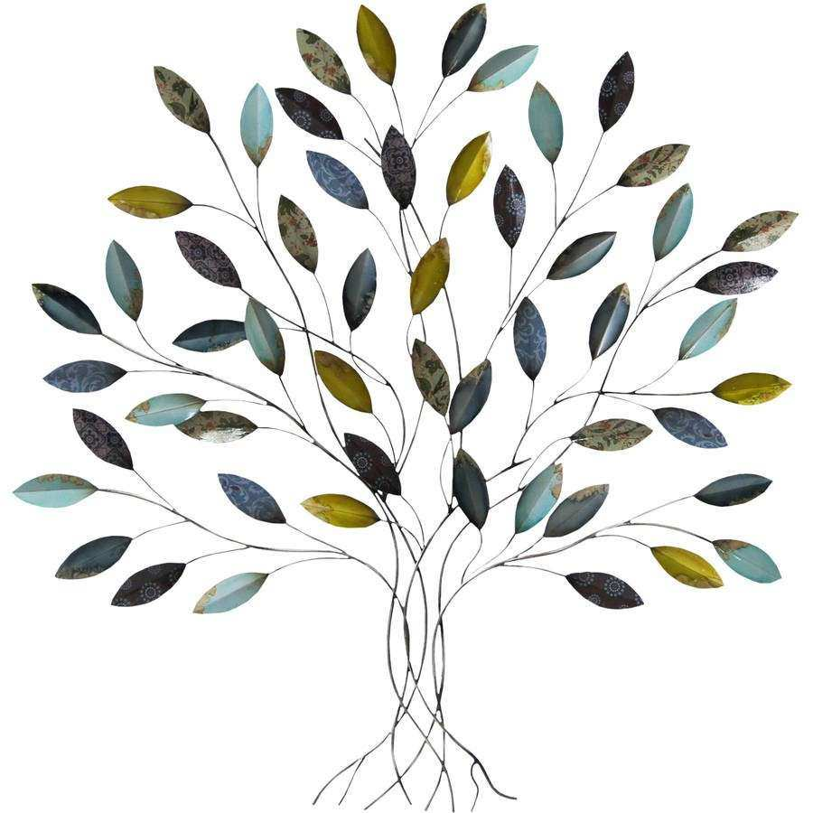 Perfect Metal Leaf Wall Decor Lovely Metal Wall Art Walmart