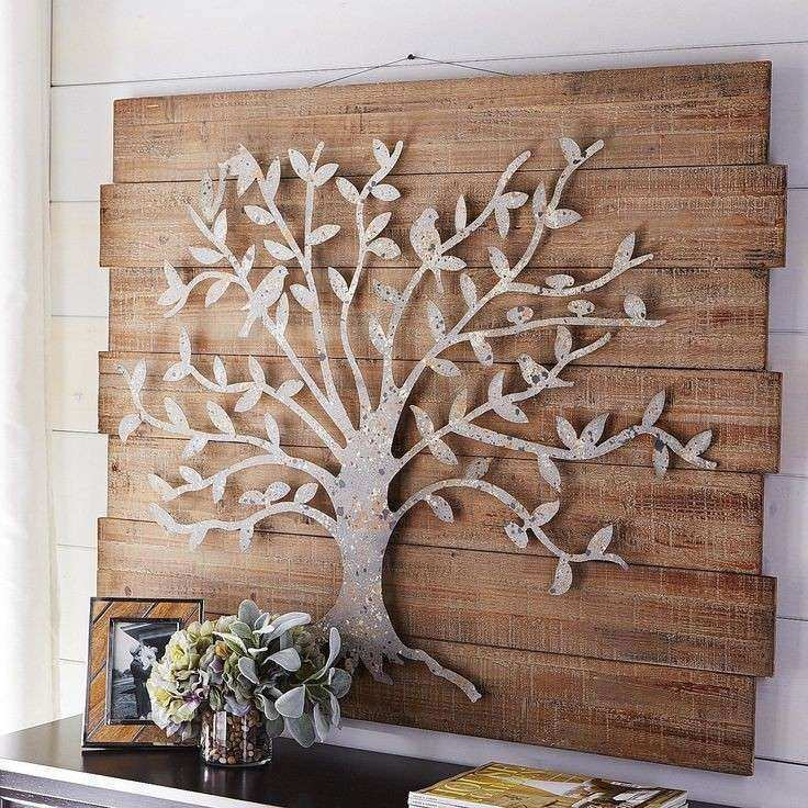 Family Tree Metal Wall Art
