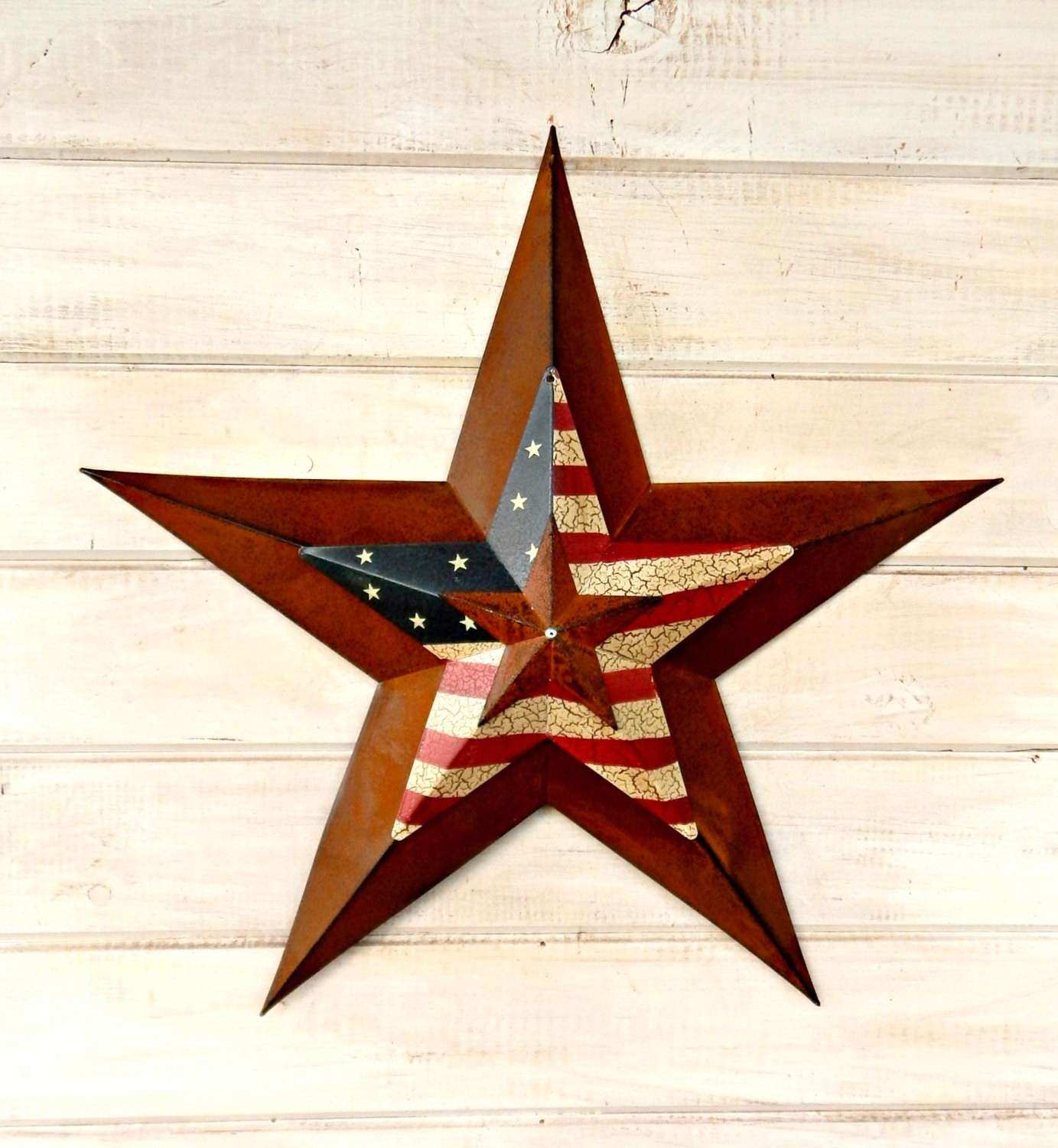 Star Home Decor Star Wall Hanging PRIMITVE American BARN