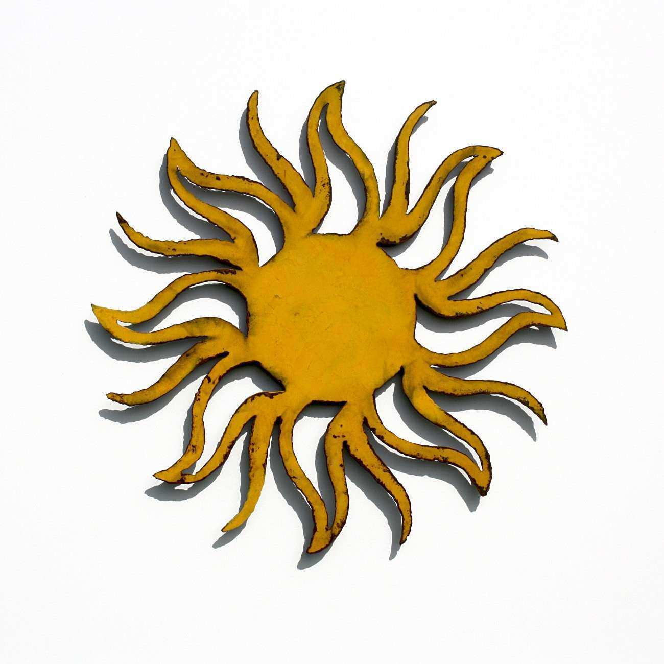 SUN Metal Wall Art 16 Garden Art indoor outdoor