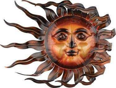 Wind & Sun Wall Decor Statuary only $79 95 at Garden Fun