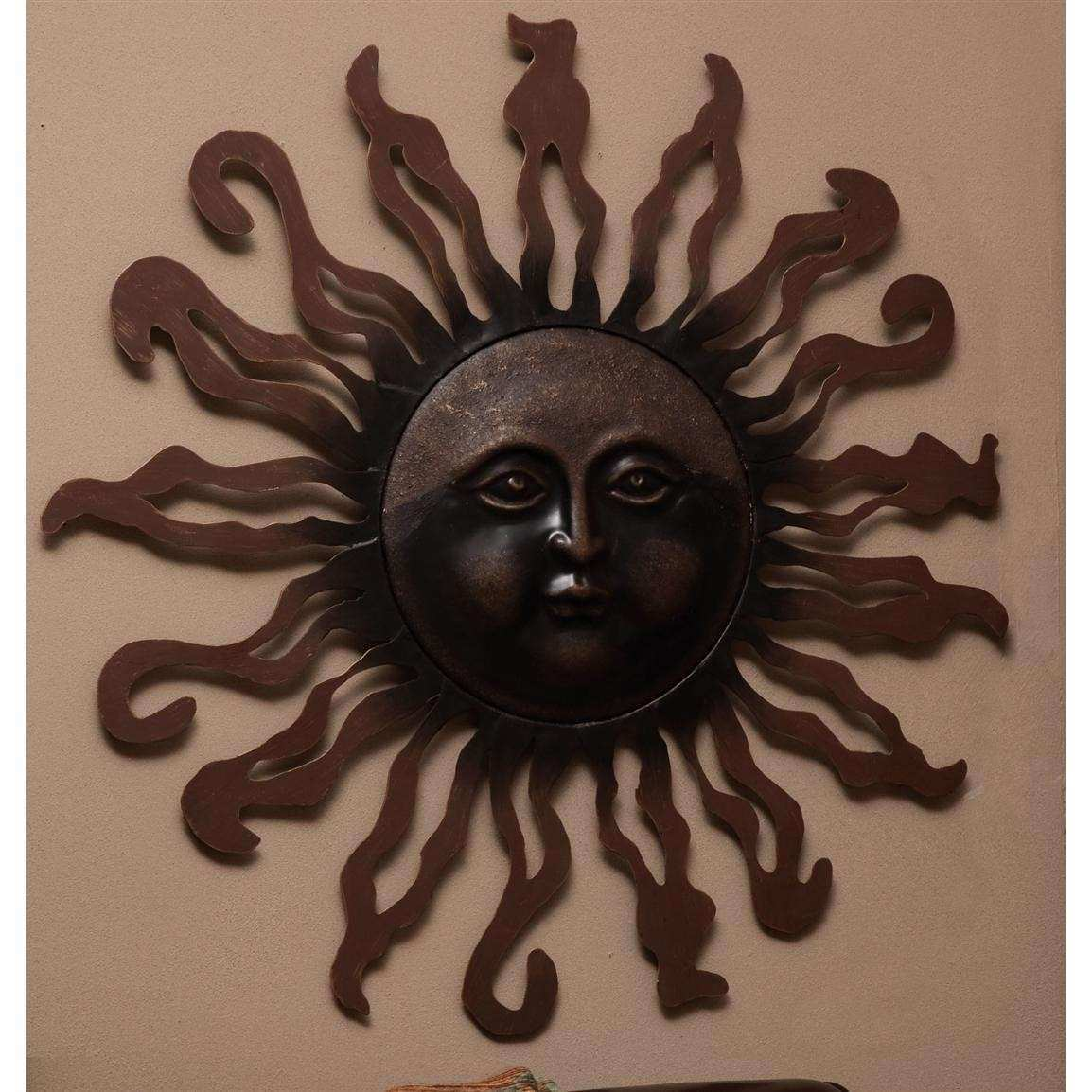 Metal Sun Wall Decor Wall Art at Sportsman s Guide
