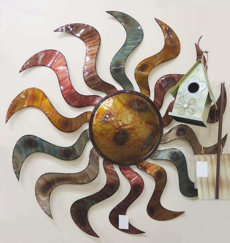 Sun Dance Wall Art Metal Sun Sculpture Sunburst