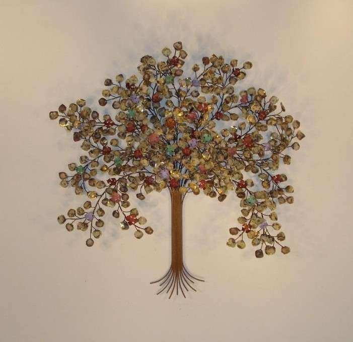 Metal Tree Wall Decor Awesome Metal Wall Art Metal Wall Sculpture ...