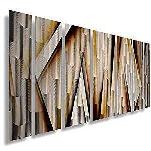 Amazon Modern Contemporary Abstract Metal Wall