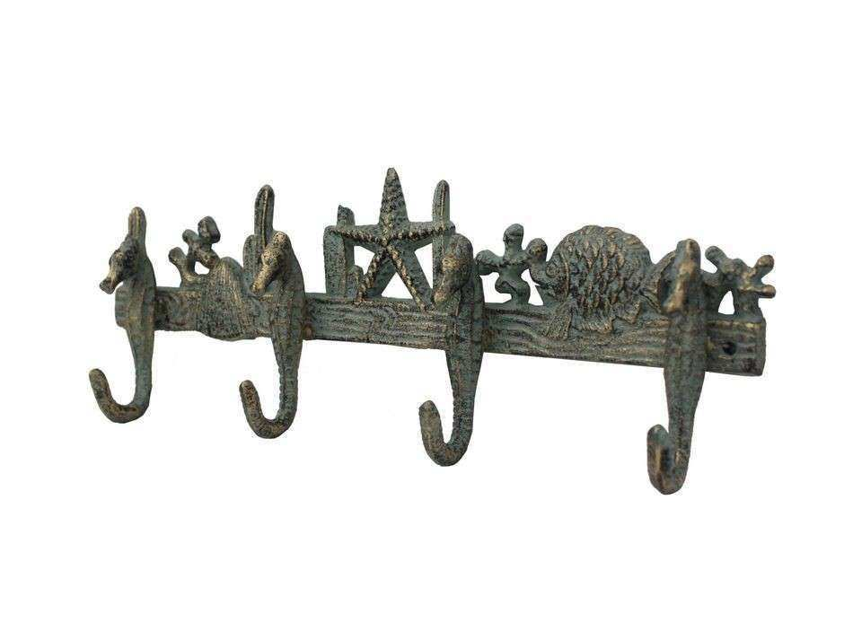 Buy Antique Seaworn Bronze Cast Iron Wall Mounted Starfish