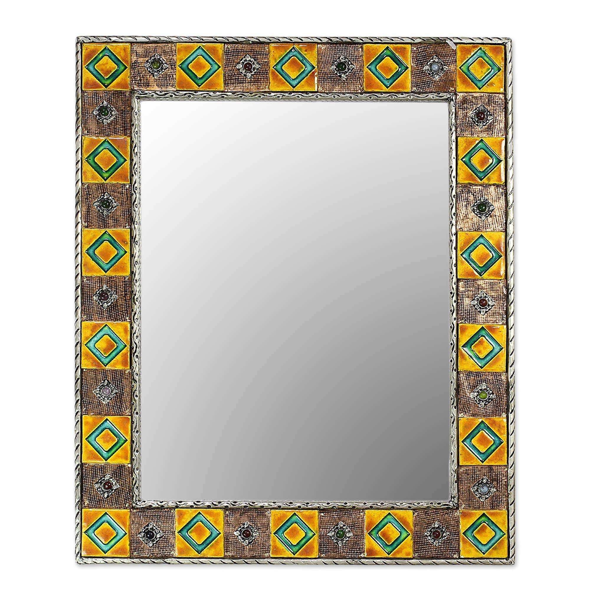 CERAMIC MIRRORS Ceramic Mirror Collection at NOVICA