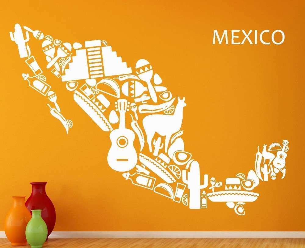 Mexican Wall Art Awesome Line Get Cheap Mexican Wall Decor ...