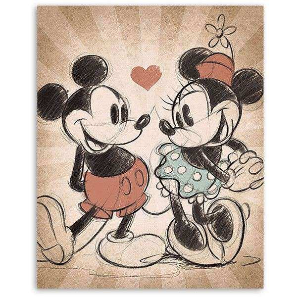The 25 best Mickey and minnie tattoos ideas on Pinterest
