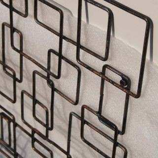 Pin Contemporary Metal Wall Art Rose Trellis on Pinterest