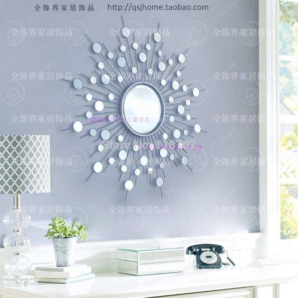Aliexpress Buy Metal wall mirror decor modern