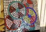 Mirror Mosaic Wall Art Elegant Circles Wall Art — Live In Mosaics