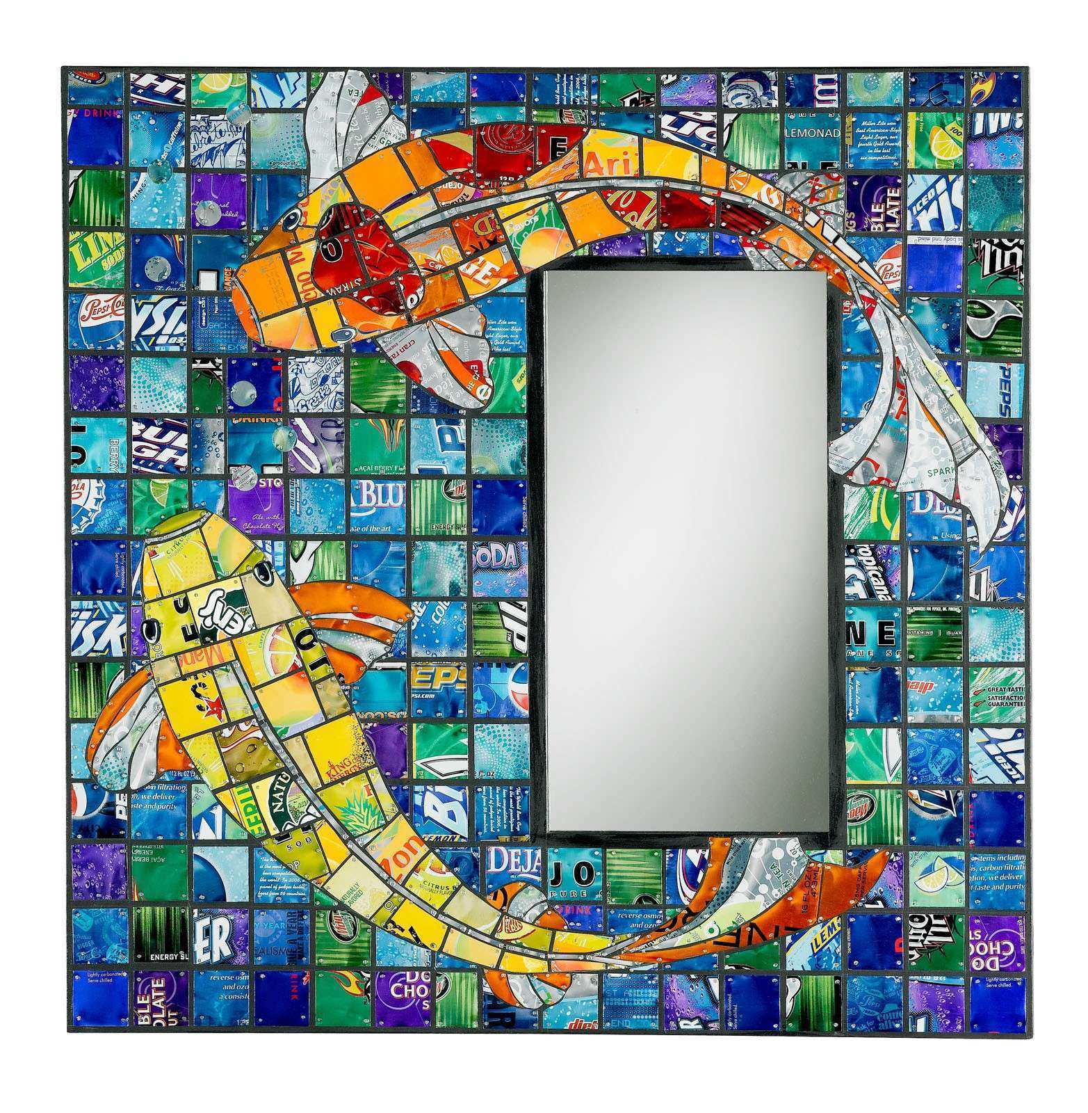 How to Recycle Mirror Mirror on the Wall Recycled Frame