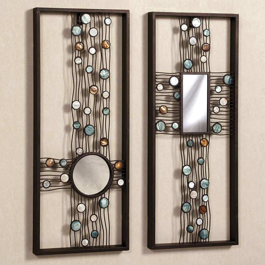 Creative Mirror Wall Decor Metal Mirror Wall Decor