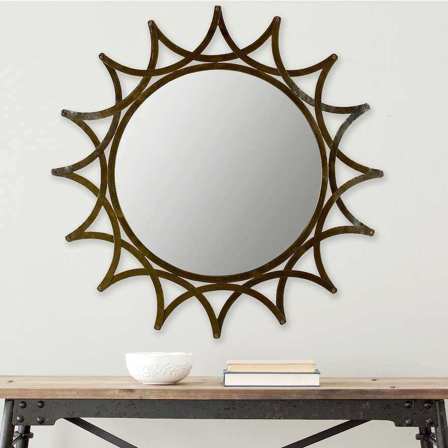 Mirrored Star Wall Decor Awesome Metal Art Ideas